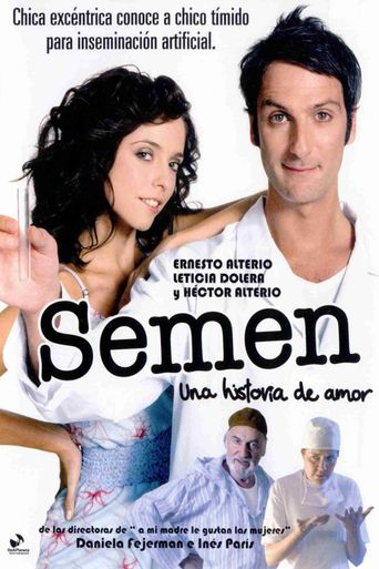 Semen, a Love Sample Poster