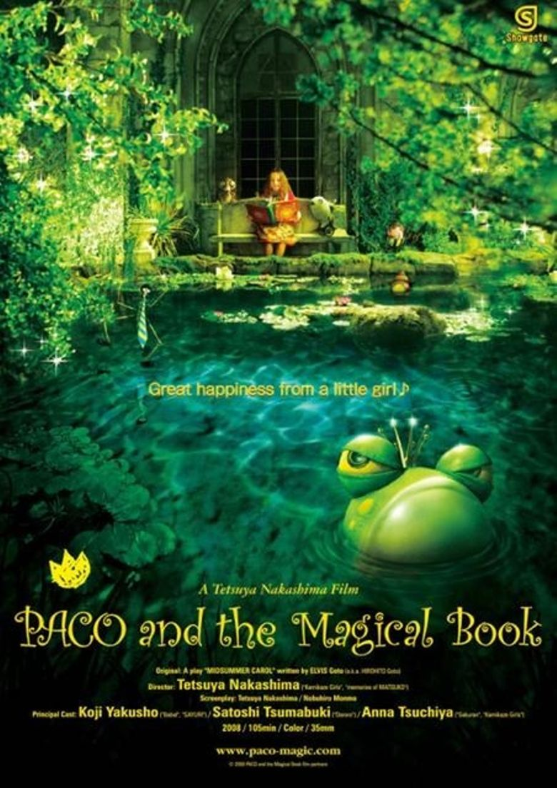 Paco and the Magical Book Poster