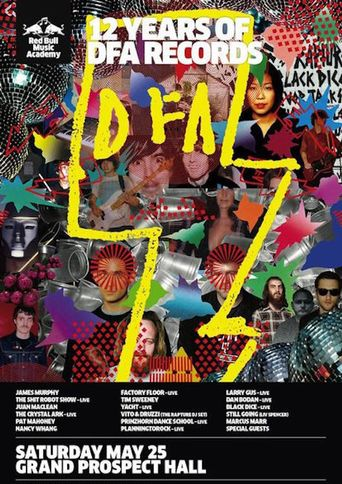 12 Years of DFA: Too Old To Be New, Too New To Be Classic Poster