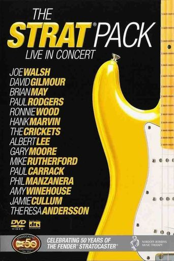 The Strat Pack: Live in Concert - 50 Years of the Fender Stratocaster Poster