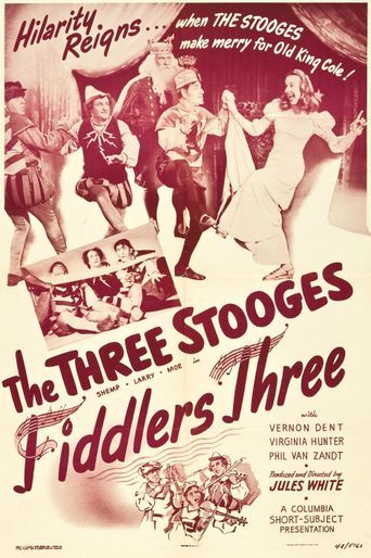 Fiddlers Three Poster