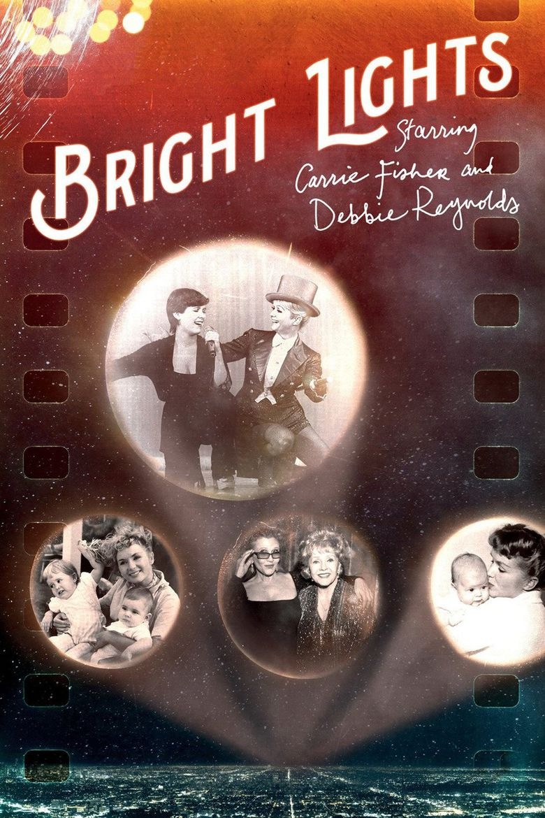 Bright Lights: Starring Carrie Fisher and Debbie Reynolds Poster
