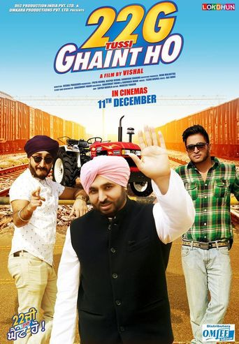 22G Tussi Ghaint Ho Poster