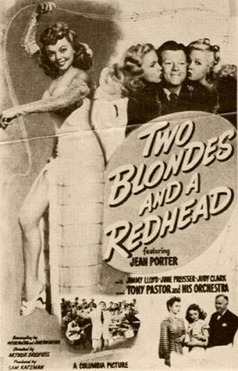Two Blondes and a Redhead Poster