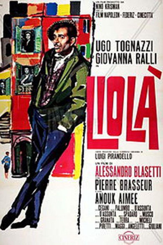 Liolà Poster
