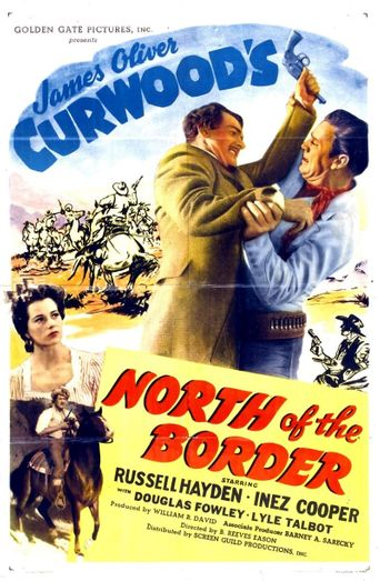 North of the Border Poster