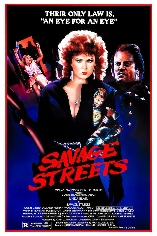 Savage Streets Poster