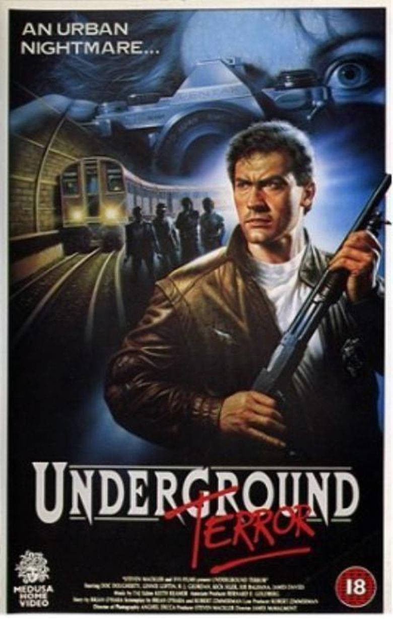 Underground Terror Poster