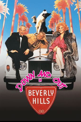 Down and Out in Beverly Hills Poster