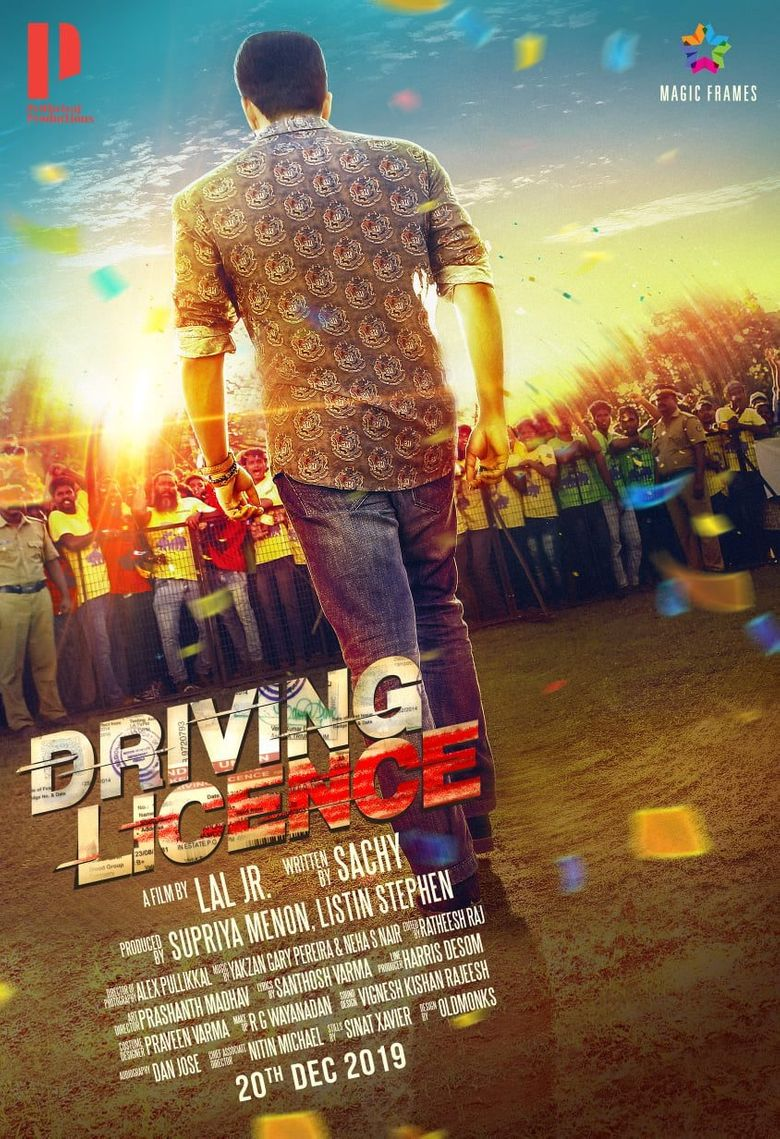 Driving Licence Poster