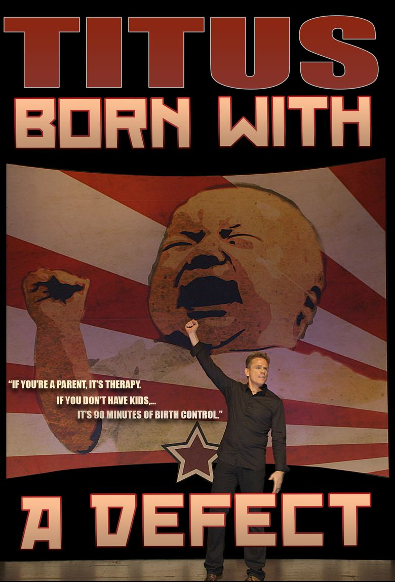 Christopher Titus: Born With a Defect Poster