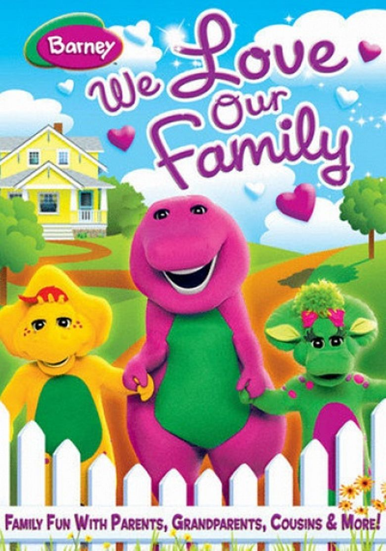Barney: We Love Our Family Poster
