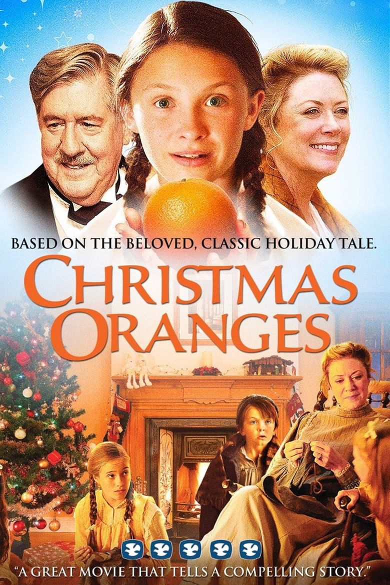Christmas Oranges Poster