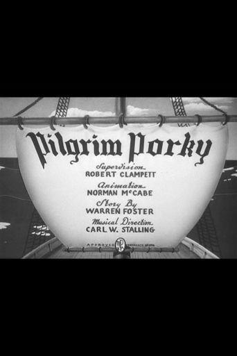 Pilgrim Porky Poster