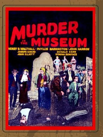 The Murder in the Museum Poster