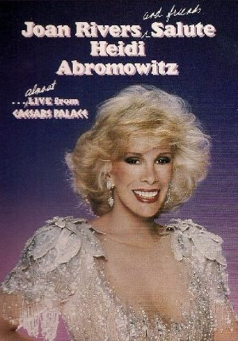 Joan Rivers and Friends Salute Heidi Abromowitz Poster