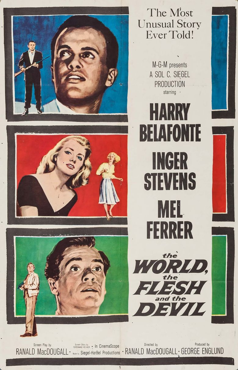 The World, the Flesh and the Devil Poster