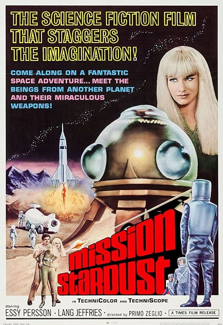 Mission Stardust Poster