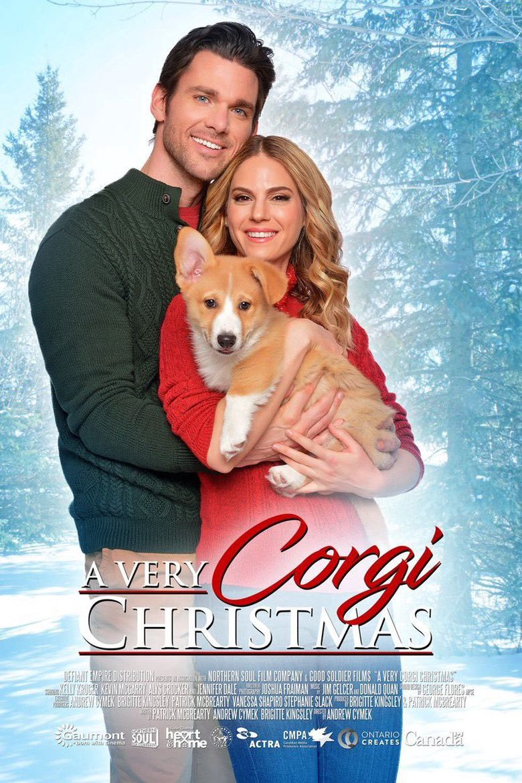 A Very Corgi Christmas Poster