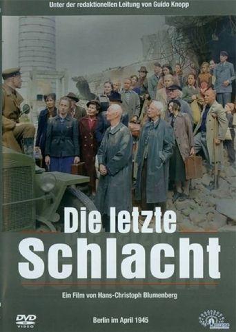 Die letzte Schlacht Poster