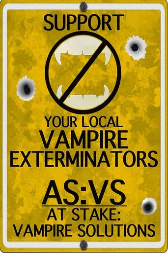 At Stake: Vampire Solutions Poster