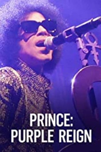 Prince: A Purple Reign Poster