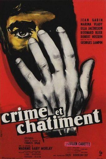 Crime et châtiment Poster