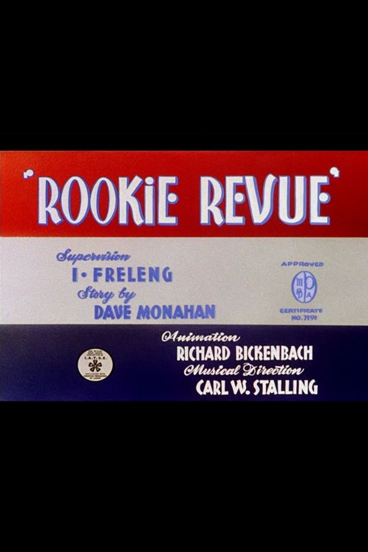 Rookie Revue Poster