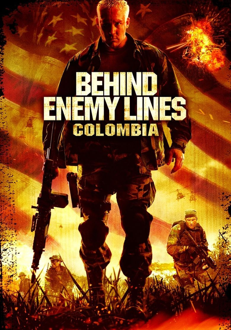 Behind Enemy Lines III: Colombia Poster