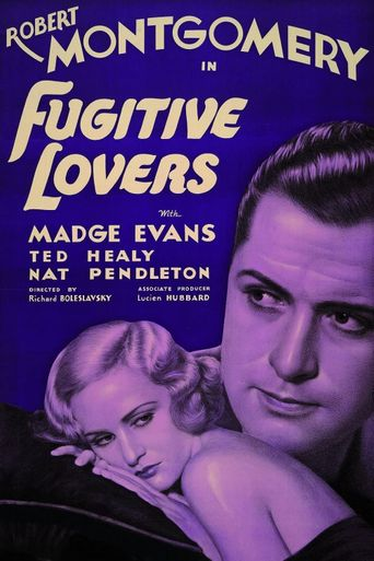 Fugitive Lovers Poster