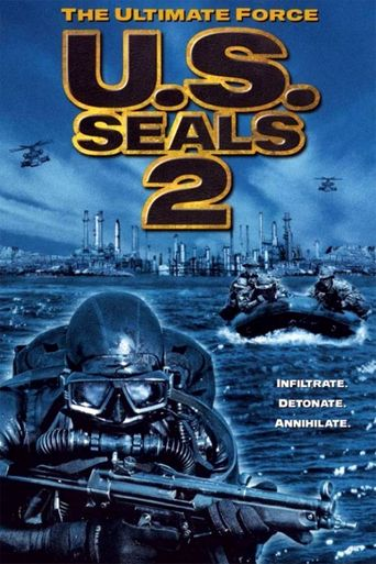 U.S. Seals II: The Ultimate Force Poster