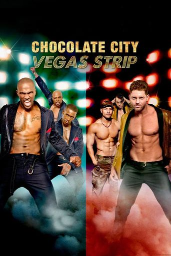Chocolate City: Vegas Strip Poster