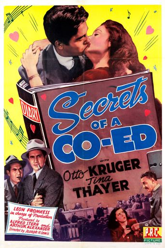 Secrets of a Co-Ed Poster