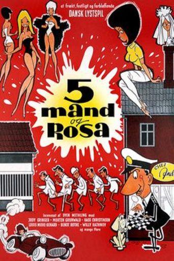 5 mand og Rosa Poster