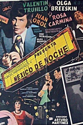 México de noche Poster