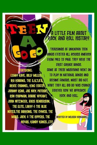 Teen a Go Go: A Little Film About Rock and Roll History Poster
