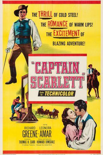 Captain Scarlett Poster