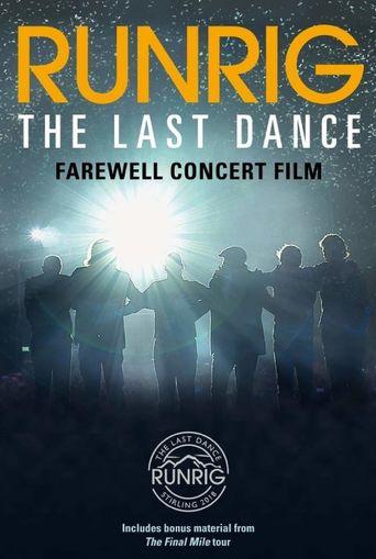 Runrig: The Last Dance Poster