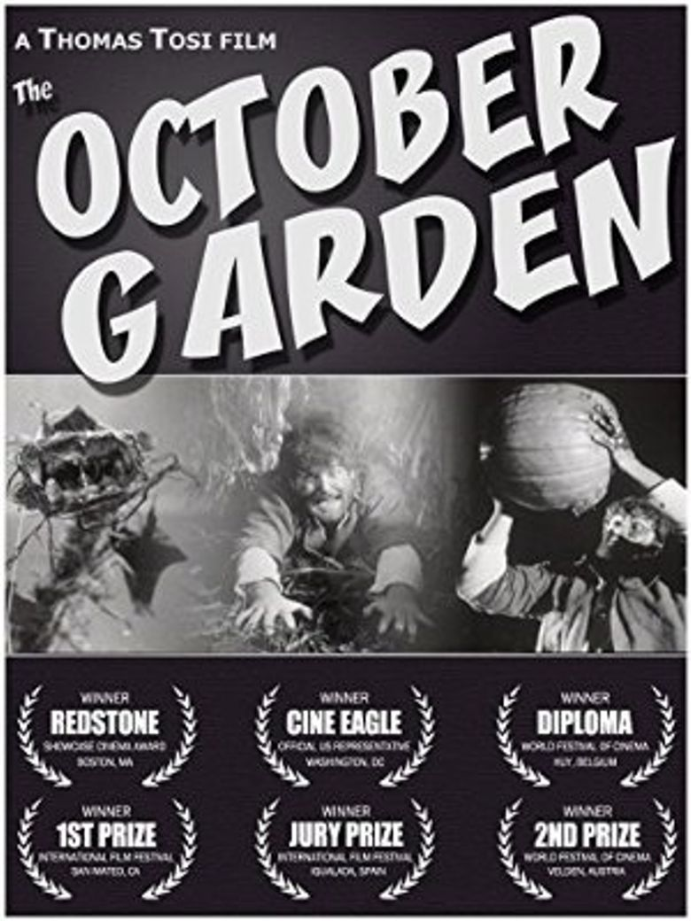 The October Garden Poster