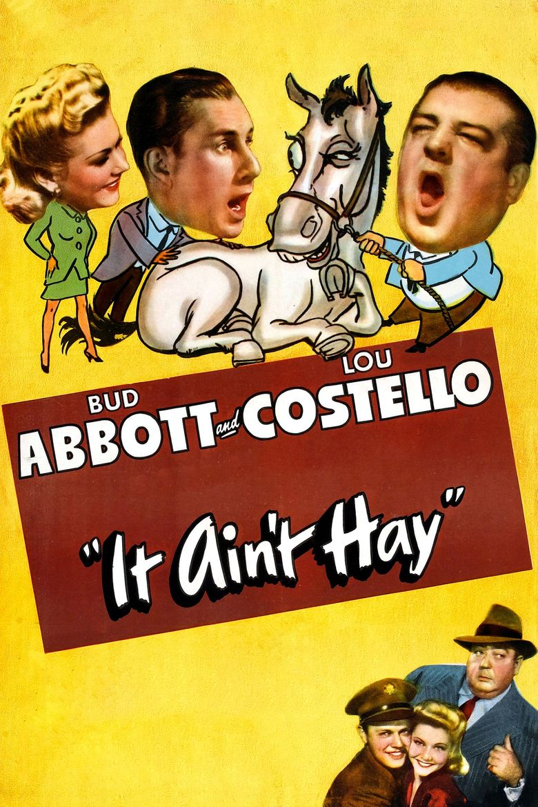 It Ain't Hay Poster