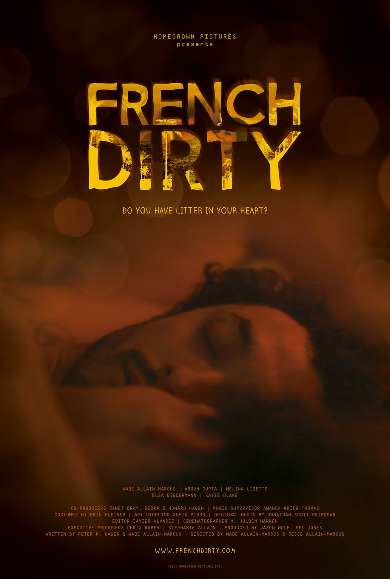 French Dirty Poster