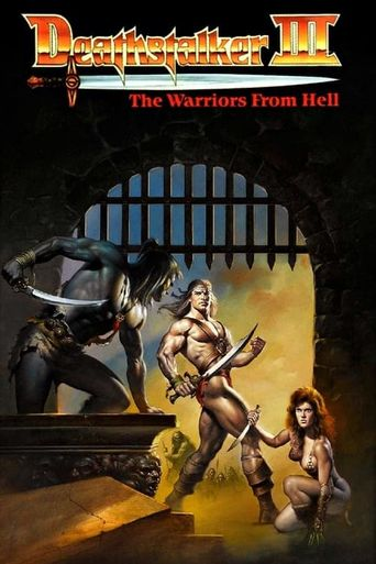 Deathstalker and the Warriors from Hell Poster
