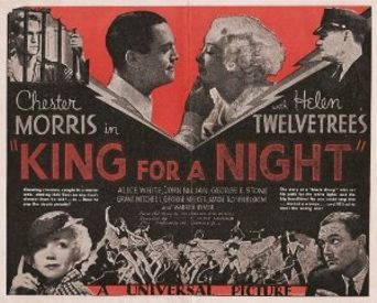King for a Night Poster