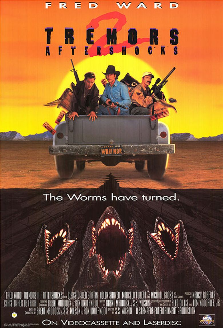 Tremors 2: Aftershocks Poster