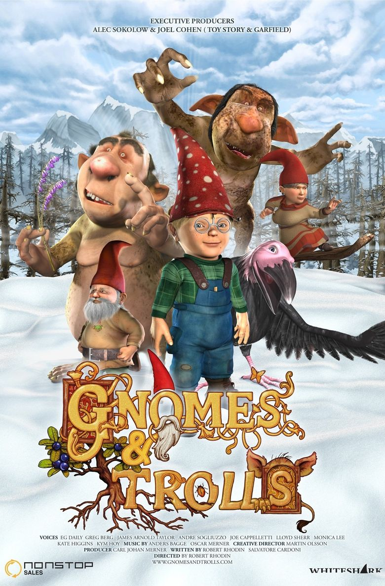 Gnomes and Trolls: The Secret Chamber Poster