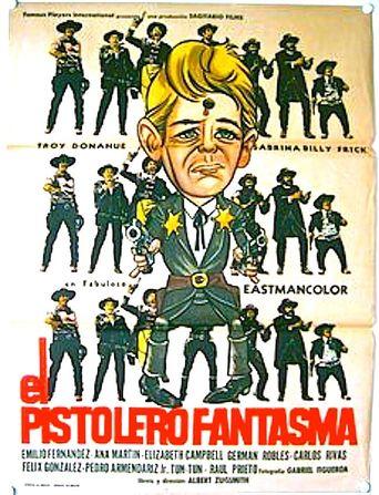 The Phantom Gunslinger Poster