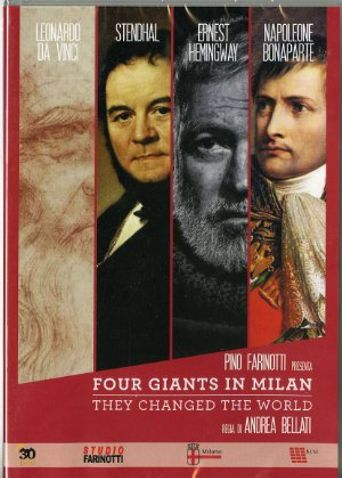 Four Giants in Milan Poster