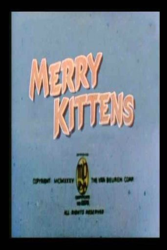 The Merry Kittens Poster