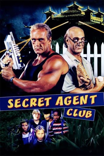 The Secret Agent Club Poster