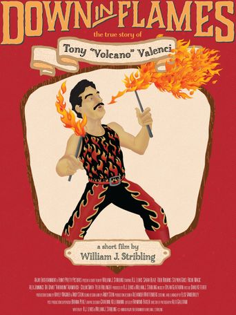 Down in Flames: The True Story of Tony Volcano Valenci Poster